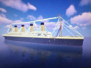 Minecraft RMS Titanic Minecraft Map & Project