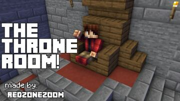 The throne room! Minecraft Map & Project