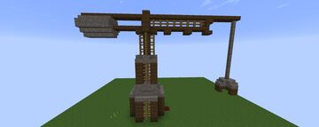 Medieval crane Minecraft Map & Project
