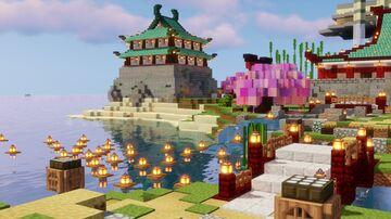 15 Easy Japanese Build Hacks - Minecraft Build Hints & Tips -  Simple Japanese Build Ideas Minecraft Map & Project