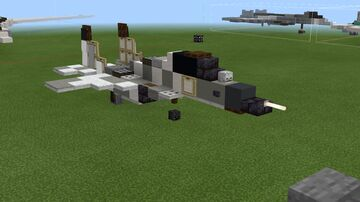 1:1 Scale MiG-29 Minecraft Map & Project