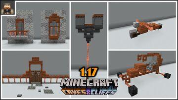 Minecraft 1.17 Easy lightning rod building tricks Minecraft Map & Project