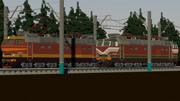 Czechoslovak electric locomotives (for the USSR) in Minecraft Minecraft Map & Project