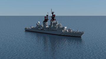 Farragut-class Destroyer (1958) Minecraft Map & Project
