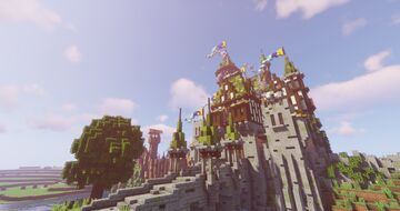 Fortified outpost Stromfort Minecraft Map & Project