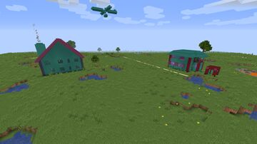 Player Built Houses Minecraft Map & Project