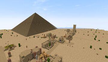 Desert adventure Minecraft Map & Project