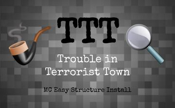 Trouble in Terrorist Town (game function structure) Minecraft Map & Project
