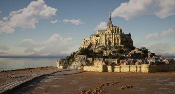 Mont-Saint-Michel, France 1:1 recreation Minecraft Map & Project