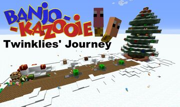 Banjo-Kazooie Twinklies' Journey Minigame Minecraft Map & Project