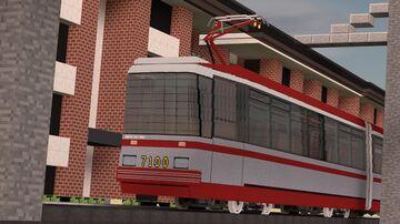 Tram  LVS97A2 Minecraft Map & Project