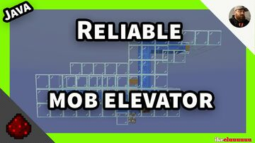 Minecraft 1.13 + Reliable Mob Elevator Minecraft Map & Project
