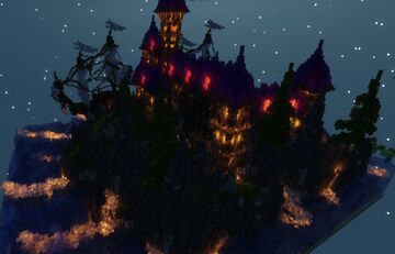 The Wizard's Castle Minecraft Map & Project