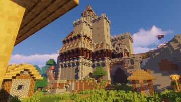 Castle 2 [1.14.4] Minecraft Map & Project