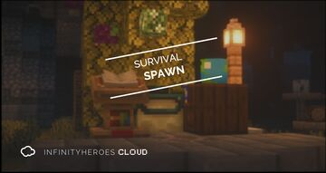 New Survival spawn for infinityheroes.space Minecraft Map & Project