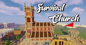 Survival Church Minecraft Map & Project