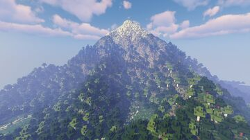 The Minecraft Mountain Project Minecraft Map & Project