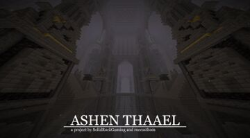 Ashen Thaael - Nether Dwarven Fortress Minecraft Map & Project