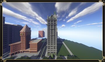 The Willem Building | Annetown | New Lapusia City Minecraft Map & Project