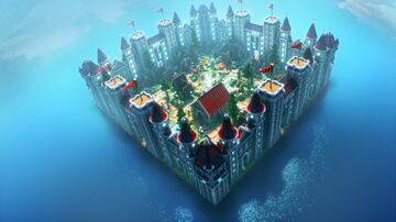 Villager's Castle Spawn Minecraft Map & Project