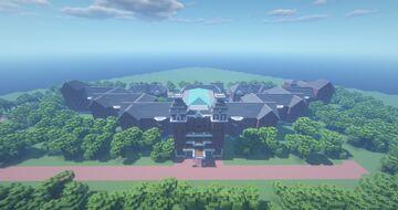 The Ridges at Ohio University Minecraft Map & Project