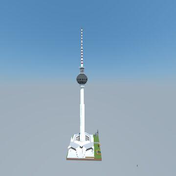 Fernsehturm Berlin, Germany II TV Tower Berlin Minecraft Map & Project