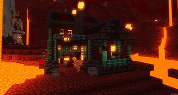 Demonic Nether Blacksmith Minecraft Map & Project