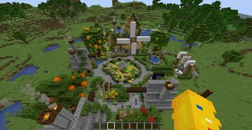 Minecraft custom village by Shourjya31 Minecraft Map & Project