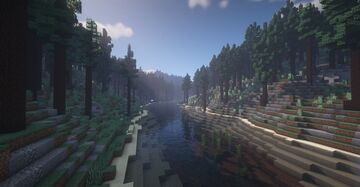 Pine Forest Hills Minecraft Map & Project