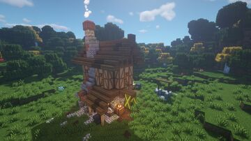 Real medieval house with tudors Minecraft Map & Project