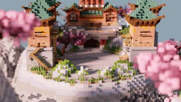 ✿ Oriental Heights ✿ Minecraft Map & Project