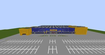 IKEA (null) Minecraft Map & Project