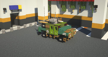 Armored Vehicle Minecraft Map & Project