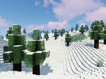The Big Mountain with a cable-car Minecraft Map & Project