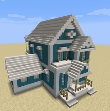 Surfside Beach House Minecraft Map & Project