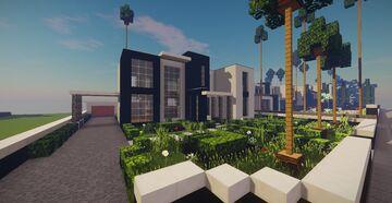 Modern House #15 + schematics Minecraft Map & Project