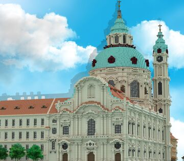 The Church of Saint Nicholas Lesser Town of Prague | MFC (+ download) Minecraft Map & Project