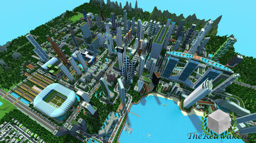 TheReawakens - Bayview City (A mega Modern City Project) Minecraft Map & Project