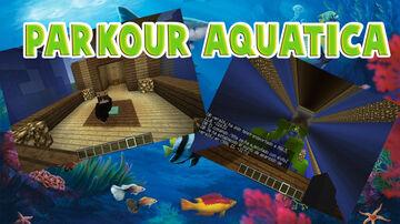 AQUATIC PARKOUR Minecraft Map & Project