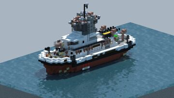 Fireboat Protector [With Download] Minecraft Map & Project