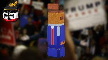 Donald J. Trump (2:1 scale) Minecraft Map & Project