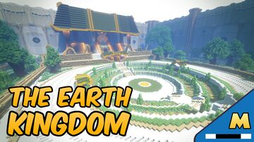 Earth Kingdom Palace, Inspired by Avatar the Last Airbender Minecraft Map & Project