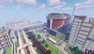 Soviet Nuclear Power Plant Minecraft Map & Project