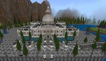 Museum That Looks like a Palace Minecraft Map & Project