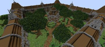 Spawn Faction (100x100) Minecraft Map & Project