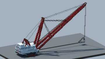 bucyrus-erie 2570-w walking dragline [With Download] Minecraft Map & Project