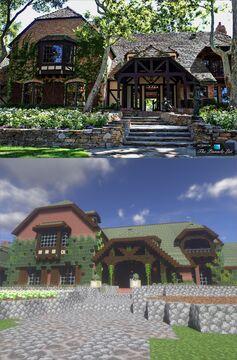 Michael Jackson's Neverland Ranch Minecraft Map & Project