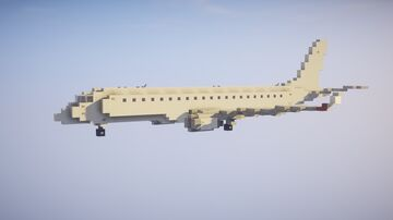 1,5:1 Embraer E190 + Liveries Minecraft Map & Project