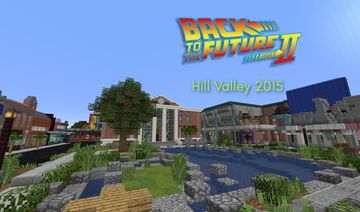 Back to the Future - Hill Valley 2015 - Courthouse Square Minecraft Map & Project