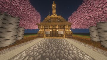 Melonness Oaken Home Minecraft Map & Project